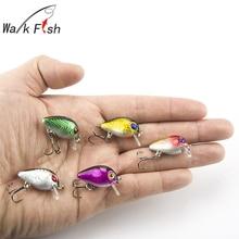 5Pcs Wobblers Fishing Lure Crank 3cm 1 5g Floating Lure 0 1 0 5M Hard Bait