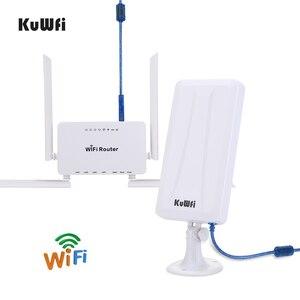 Image 4 - KuWFi 300mbps راوتر لاسلكي + مكاسب عالية واي فاي USB محول 300Mbps عالية الطاقة موزع إنترنت واي فاي مجموعة واحدة تمديد إشارة واي فاي حصة 32 المستخدمين