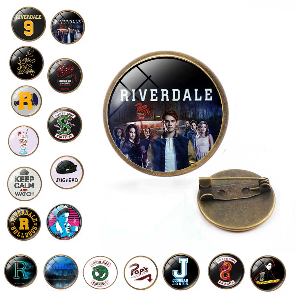 Kartun Riverdale Pin Logam dan Bros untuk Wanita Pria Lapel Pin Tas Ransel Pin Lencana Hadiah Avengers 3 Thanos