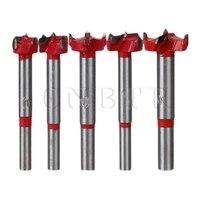 5PCS BQLZR Alloy Steel 16 25mm Forstner Drill Bit Set Home Woodworking Hole Saw