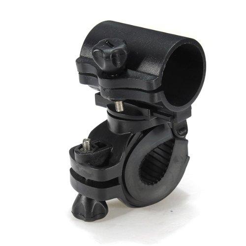 Flashlight Holder Universal 360 Degree Lamp Holder For Bicycle Handlebar Mount