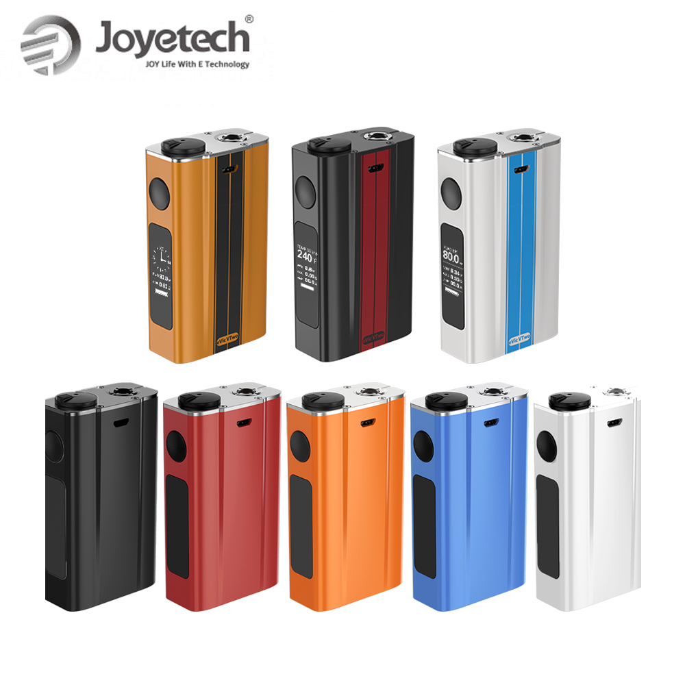 100% Original Joyetech eVic VTwo Batterie Eingebaute 5000 mah Kapazität Und 80 watt Ausgang RTC/VW/VT Mod elektronische Zigarette