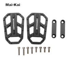 MAIKAI Motorcycle Accessories FOR HONDA CB500X CB500 X 2015-2016 CNC Aluminum Alloy Widened Pedals