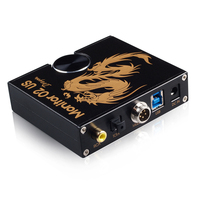 Musiland Moniteur 02 US Dragon USB DAC 3.0 PC HiFi DAC 32Bit/384 KHz USB DAC APE FLAC WAV bon son casque écouteurs amplificateur