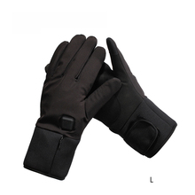 Winter Windproof Heated Gloves Touch Screen Full Finger Electric Heating Outdoor Skiing Motorbike Motorcycle