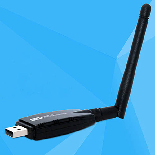 Portable Mobile Hotspot 300 Mbps Date Rate USB WiFi Dongle Adapter + Antenna ...