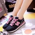 Autumn all-match white lace leisure shoes shoes with flat bottomed Korean students white shoes leather shoes