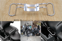 Chrome Passenger Grab Rail For Harley Road King FLHR Electra Glide Classic FLHTC Seat Hand Grab