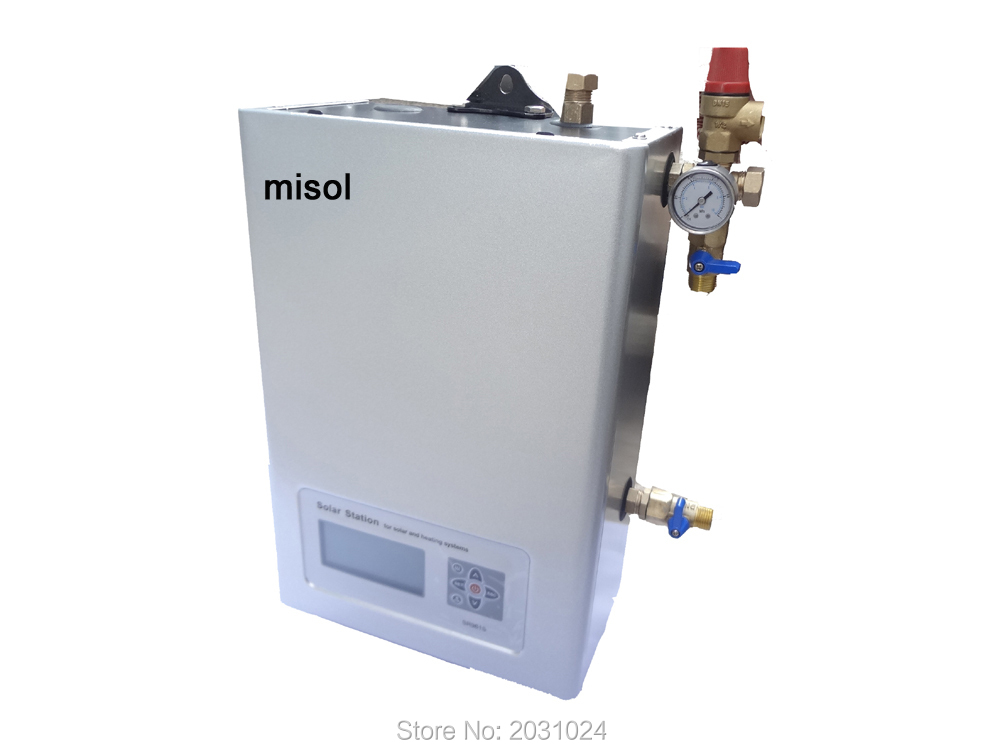 110V Work Station pump station of Solar Hot Water Heater w/Pump w controller