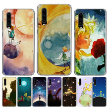 Lovely the Little Prince fox Phone Case for Huawei P30 P20 Mate 20 10 Pro P10 Lite P Smart + Plus 2019 Cover Shell Capa Coque