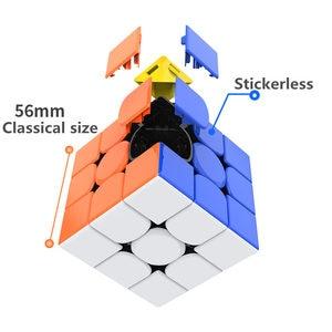 Image 2 - لعبة مجسم سريعة سحرية من Gan356R S 3x3x3 لعبة مكعب الجان احترافية بدون ملصقات Gan356 RS 3x3 مجسم v2 gan 356RS ألعاب الألغاز Gan 356 R S