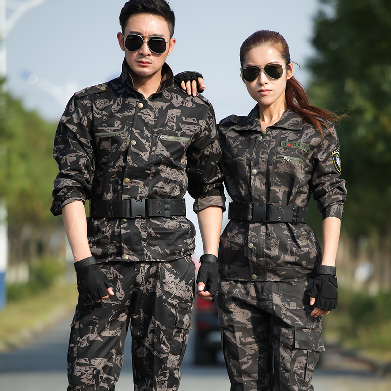 Military Uniform Men Army Tactical Camouflage Suit Militar Soldier Clothes Pants Set High Quality Outdoor Military Training Set