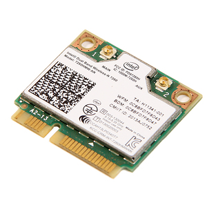 Image 5 - Tarjeta Wlan de doble banda para Intel Wireless N 7260 7260HMW AN Half Mini Pci e, 300Mbps, inalámbrica, Wifi + Bluetooth 4,0, Notebook