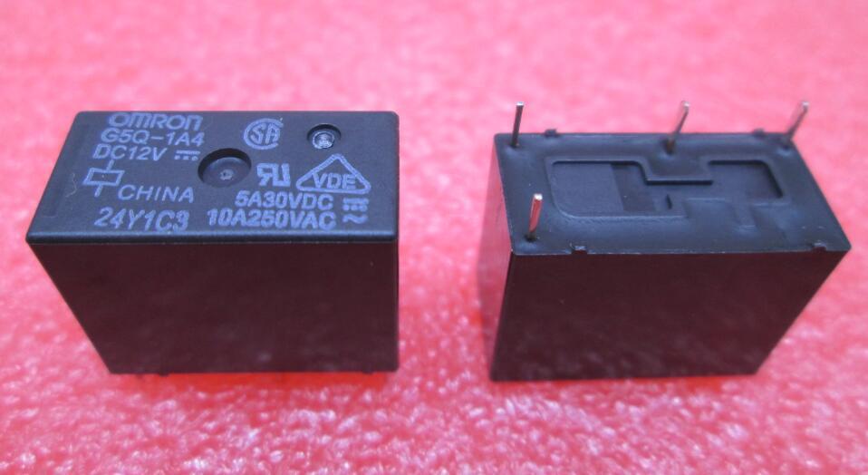HOT NEW relay G5Q-1A4 DC12V G5Q-1A4-DC12V G5Q1A4 DC12V 12VDC OMRON DIP4 hot new nc4d jp dc12v nc4d jp dc12v nc4d jp dc12v nc4d dc12v 12vdc 12v dip14