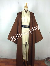 Custom Made Star Wars Darth Jedi Obi- Wan Kenobi Costum Movie Cosplay Costume