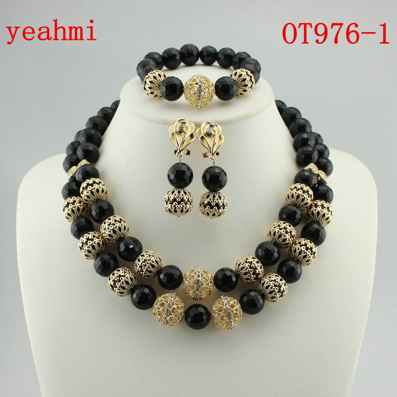 African Bride Balls Jewelry Set Indian Nigerian Wedding Beads Statement Necklace Set 2018 New Free Shipping OT976-1African Bride Balls Jewelry Set Indian Nigerian Wedding Beads Statement Necklace Set 2018 New Free Shipping OT976-1