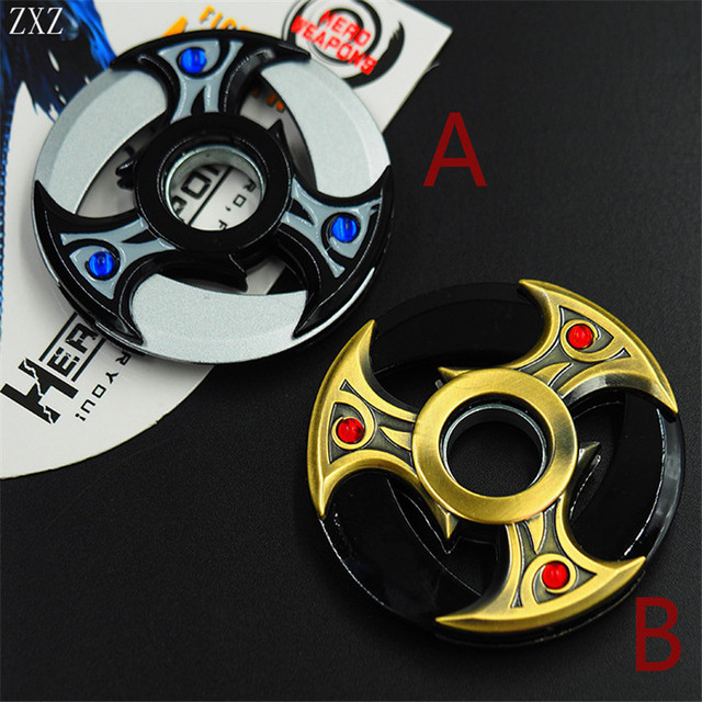 Shuriken Zinc Alloy Rotatable Darts Fidget Spinner