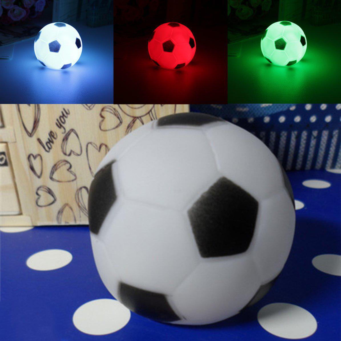 Baby Night Light Color Changing Soccer Football LED Light Night Lamp Party Decor Gift New Child Led Night LightBaby Night Light Color Changing Soccer Football LED Light Night Lamp Party Decor Gift New Child Led Night Light