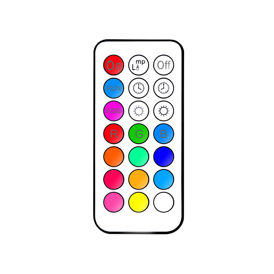 10W RGB E27 LED Bulb Light Stage Lamp 12 Colors With Remote Control LED Lights for Home AC 85-265V RGB Le Luci di scena ...