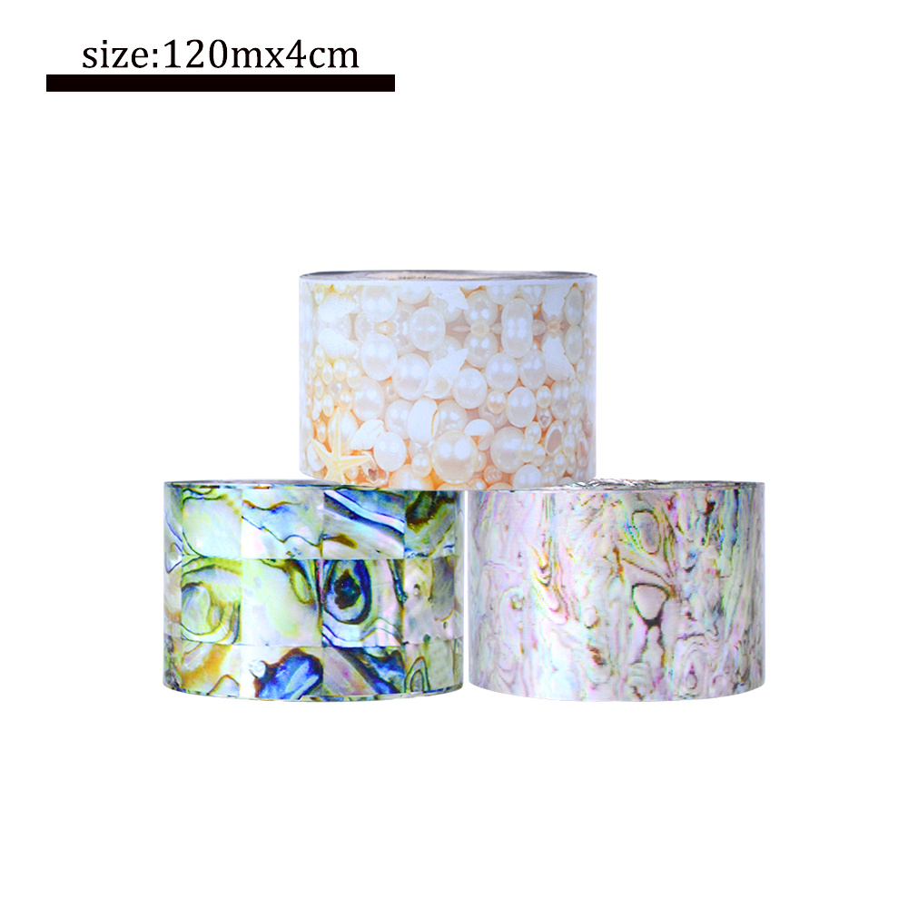 16 Rolls 120m Water Transfer Marble Stone Rock Nail Wraps Sticker Manicure Decals Nail Foil Sticker Art Sexy Women Tips TR493