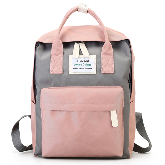 Loodial Brand Womens School Backpack Waterproof Feminine Travel Bags 14 Notebook Backpacks For Teenager