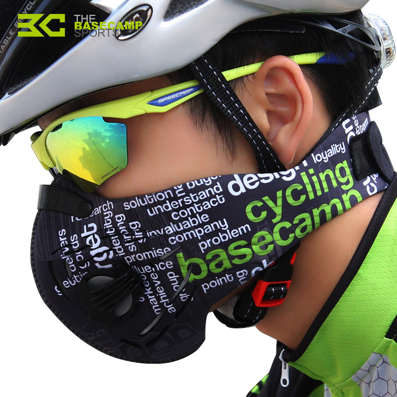 Basecamp men Cycling Mask exercise Mask Cotton female breathable Windproof sport jogging ...