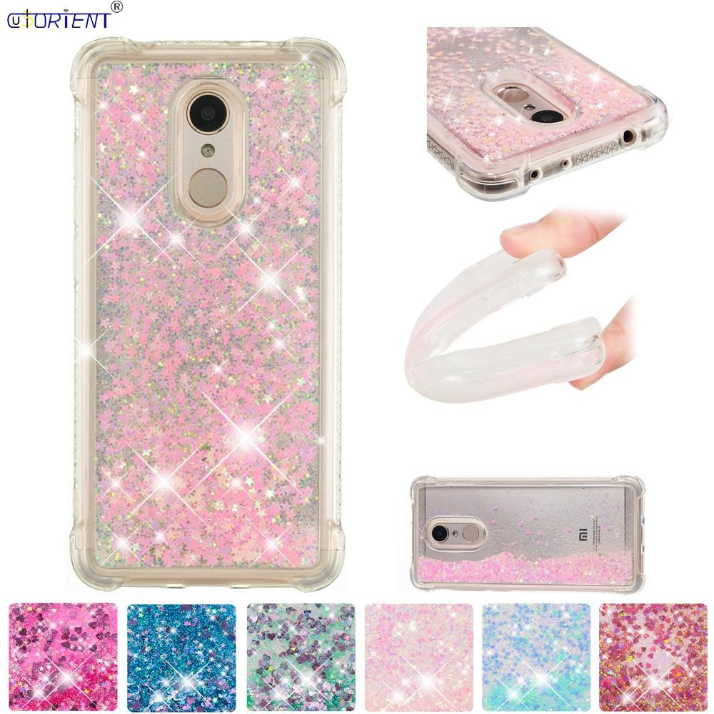 Bling Glitter Case Xiaomi Mi Note 4x Dynamic Liquid Quicksand Back Cover Xaomi Xiomi Mi Note 4 Note4x Note4 Silicone Phone Funda Cellphones & Telecommunications Phone Bags & Cases