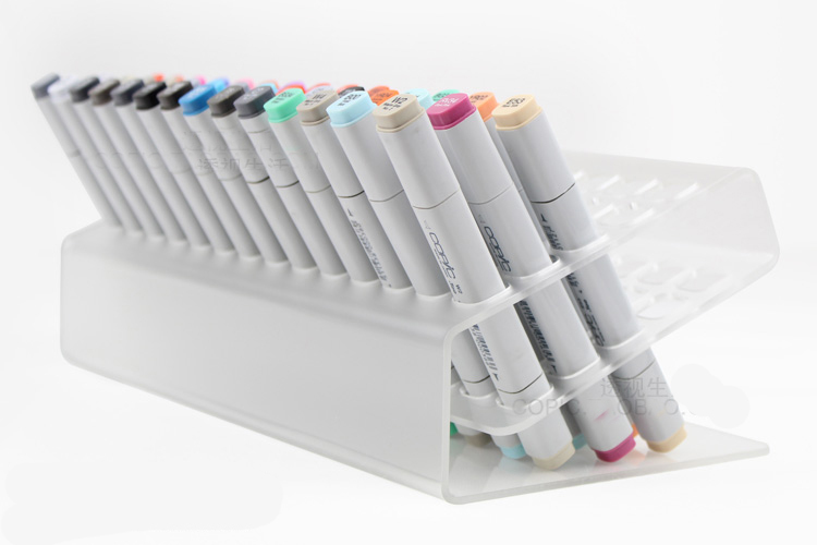 Plastic pen holder for copic markers /can hold 70 pcs markers,freeshipping freeshipping 7mbr15sa120 7mbr15sa120 70