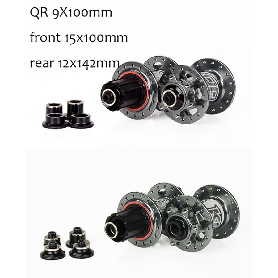 Nouveau XM490 moyeux 9*100mm 10*135mm 15*100mm 12*142mm 72HD moyeu de vélo CNC aluminium 2 + 4 roulement 32 H avant et arrière vtt/moyeu de vélo de route