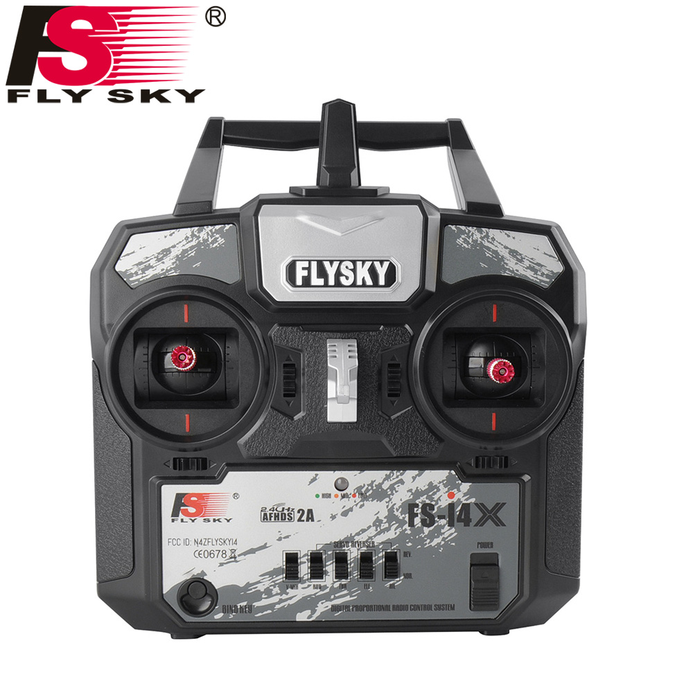 Flysky FS i4X 2 4GHz Receivers RC Transmitter Controller with FS A6 Receiver For RC Helicopter