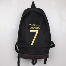 High Quality New Fashion 6 Color Ronaldo Soccer Football Backpack Boy Girl School Bag Sports Computer Canvas Backpacks