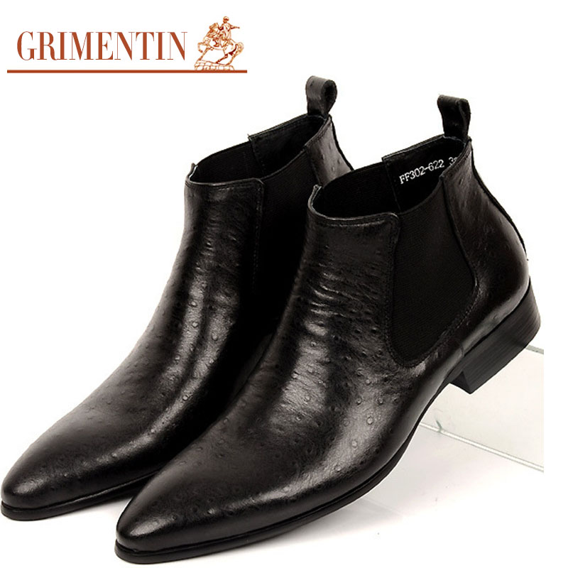 Aliexpress.com : Buy GRIMENTIN brand fashion mens ankle boots ...