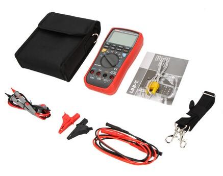 UNI T UT533 RMS Auto 50~1000V Insulation Earth Resistance Meter Digital Multimeter Capacitance Temperature Tester Megohmmeter Capacitance Meters     - title=