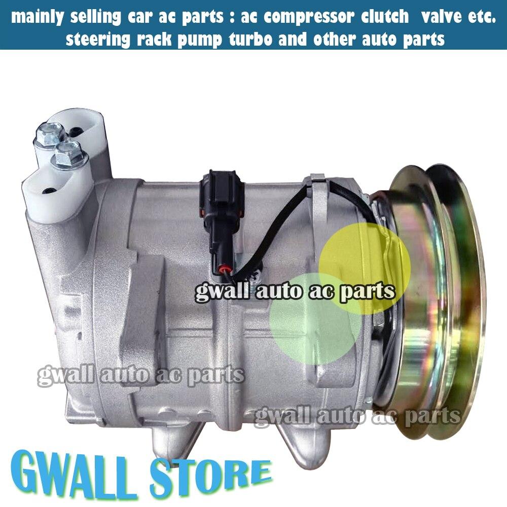 DKS17CH авто Air AC компрессор для автомобиля Nissan Patrol GR 61 2.8 RD28 1999-2004 92600-VB005 92600-VB300 92600-52N01 92600-8C820