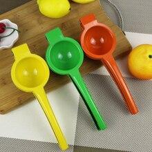 Lemon Fruit-Press-Juicer Orange Metal 1pcs Sent-Randomly Colors Hot-Sale Green/yellow