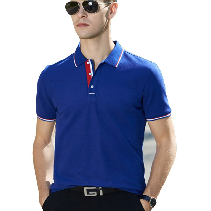 Summer Men   Polo   Shirt Brand Clothing Pure Cotton Men Business Casual Male   Polo   Shirt Short Sleeve Breathable   Polo   Shirt 4XL 9908