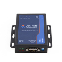Q095 USR N510 Ethernet To RS232 RS485 RS422 Single Serial Device Server Support ModBus TCP DHCP
