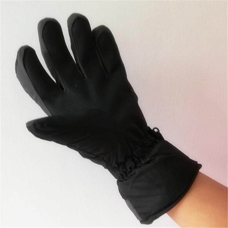 100pairs Adult Ski Gloves,Winter Fleece Liner Warm Men&Women Windproof Gloves PU Leather Non-slip Palm Waterproof Gloves