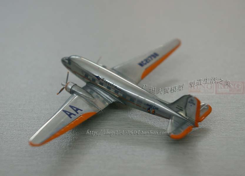 American Airlines DC-3 1:400 NC21798 Herpa commercial jetliners plane model hobby