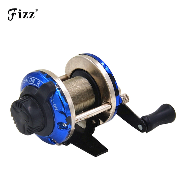 High Strength Cheapest Right Hand Drum Casting Fishing Reel with 0.2mm Line 50m for Sea Beach Rock River Boat Ice Carp fishing