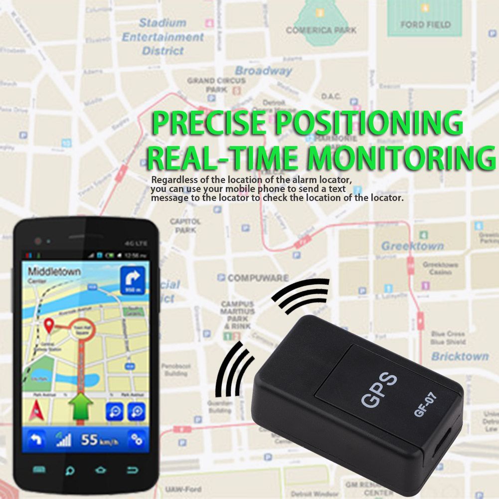 GF07 GSM GPRS Car GPS Tracker Locator Anti-Lost Recording Tracking Device Voice Control Can GPS Real Time Tracking Record