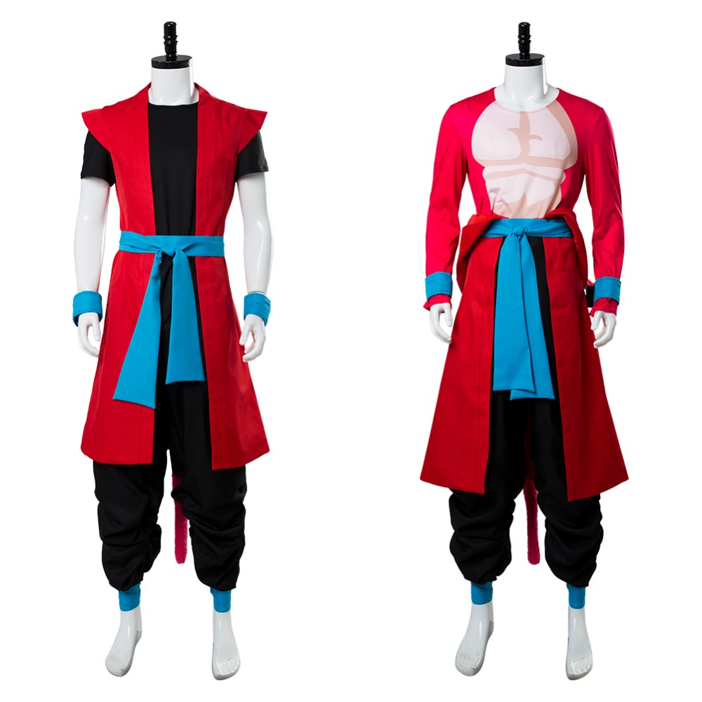 Super Dragon Ball Heroes Universe Mission Cosplay Costume Son Goku Costume ZENO Cosplay Outfit Halloween Carnival Costumes