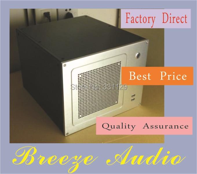 Breeze Audio-Aluminum computer case professional matearils aluminum computer matx computer case bz10a htpc computer case computer