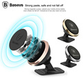 Baseus Universal Magnetic Car Phone Holder Stand For Smartphone 360 Rotating Magnet Mount Holder For iPhone 6 7 Samsung S7 Edge