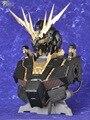 Serafim Gundam Passatempo modelo PG 1/60 RX-0 Unicorn Gundam 02 Banshee busto + Unidade de LED + acessórios De Metal Mobile Suit crianças brinquedos