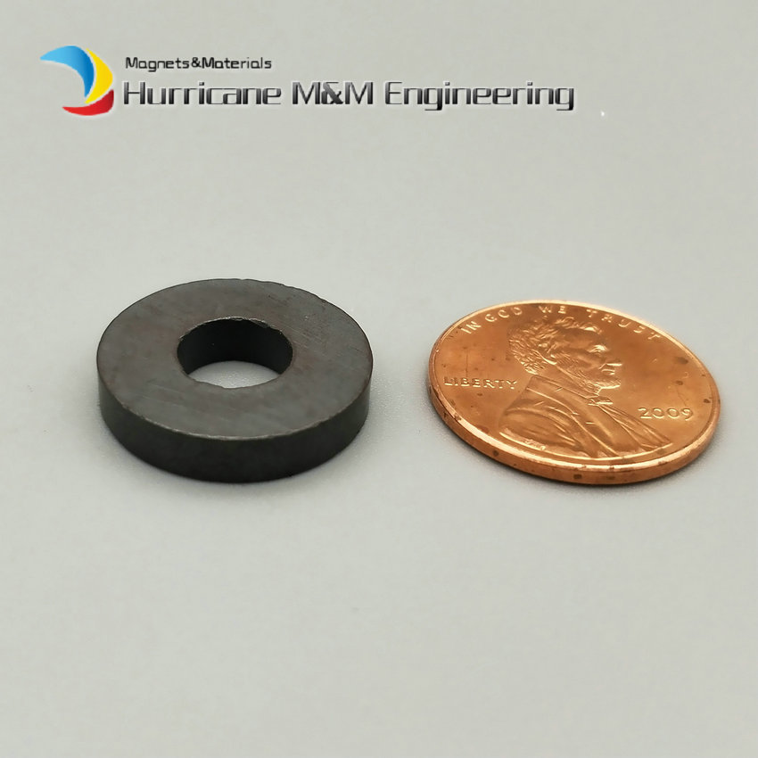 200pcs Ferrite Magnet Ring OD 17.5x7.5x3 mm for Subwoofer C8 Ceramic Magnets for DIY Loud speaker Sound Box board home use 12 x 1 5mm ferrite magnet discs black 20 pcs