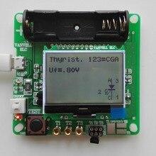 3,7 в версия индуктивно-Конденсаторного ESR метра DIY MG328 Многофункциональный тестер