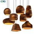 Креативный винтажный бумажный кулон соты  лампа для помещения  лампа E27  держатель для лампы 110-240 В  бесплатная доставка