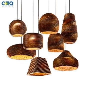 Creative Vintage papier nid d'abeille suspension lampe barre intérieure ornement éclairage E27 support de lampe 110 240V livraison gratuite|lamp indoors|pendant lamp|pendant lamp holder -