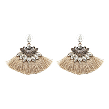 Vintage Fringing drop Earrings Fashion 2018 brand Boho Maxi luxury Dangle Tassel Earrings for Women Jewelry